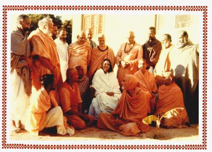 Ascetics with Sri Ma